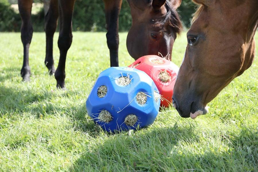 Höbollar & Hästleksaker